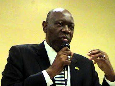 Jamaica's Minister of Health, the Honourable Dr. Fenton Ferguson