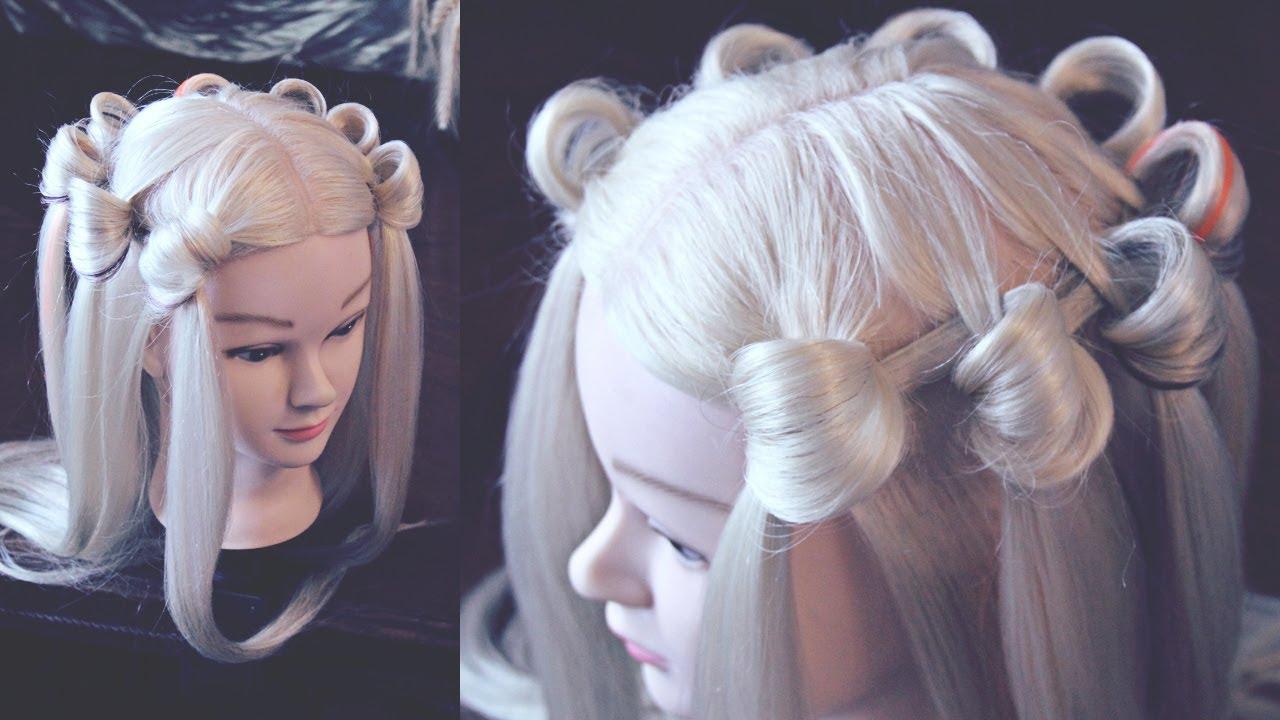Ютуб причёски с резиночками