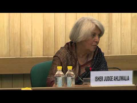 Conversations on Urbanization Series - Inaugural Talk India's Urban Challenge