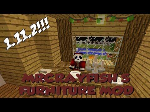 El Mejor Mod De Decoración En Minecraft - MrCrayfish's Furniture Mod 1.11.2 (Review En Español)