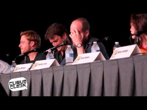 Firefly 20th reunion panel @ 2012 SDCC