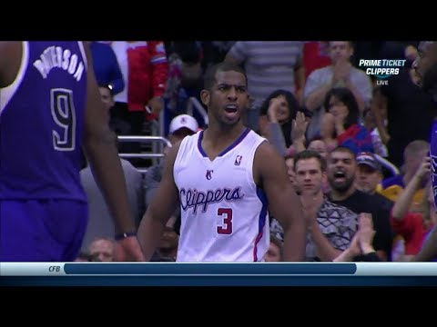Chris Paul Full Highlights vs Kings (2013.11.23) - 22 Points, 9 Assists, Clutch Plays