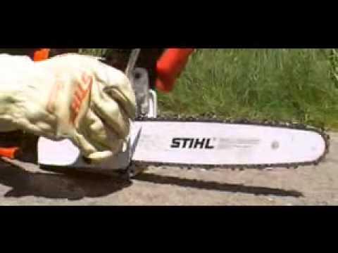 Como afilar cadena de motosierra stihl