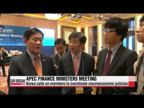 APEC finance ministers meet in Beijing to battle global ′downside risks′   APEC