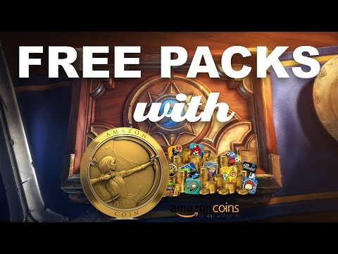 [Tutorial] Buy Hearthstone Cards with Amazon Coins (Free Packs with 20% Discount)
