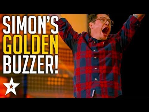 Father Of 6 Claims Simon Cowell's GOLDEN BUZZER | America's Got Talent 2018 | Got Talent Global