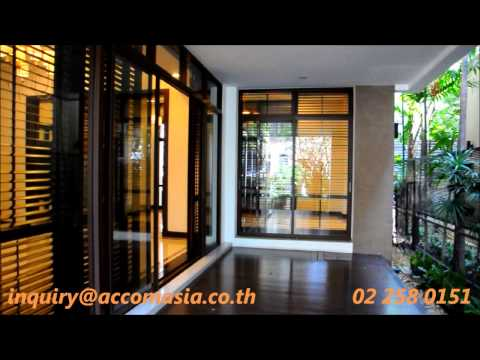 HOUSE IN COMPOUND FOR RENT IN SUKHUMVIT – BANGKOK / ASOK BTS AND SUKHUMVIT MRT.