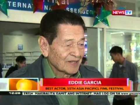 BT: Eddie Garcia, waging Best Actor sa 55th Asia Pacific Film Fest sa Macau