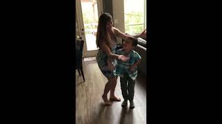 6 year old dances with Mom to Rockabye (Clean  Bandit ft. Sean Paul & Anne-Marie)