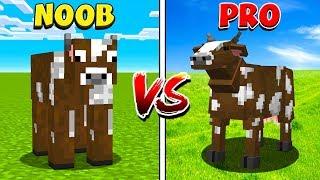 Minecraft NOOB vs PRO: ANIMALS in MINECRAFT!