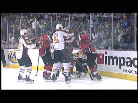 Chicago Wolves vs Abbotsford Heat, 10/24/09 (Part 1) Video