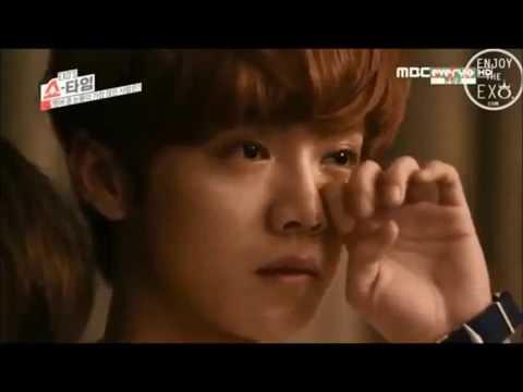 Kris, Luhan, Tao Crying Watch Sing For You - EXO MV