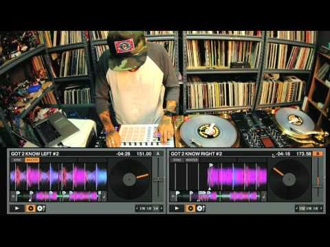 DJ Craze performs on TRAKTOR SCRATCH PRO 2