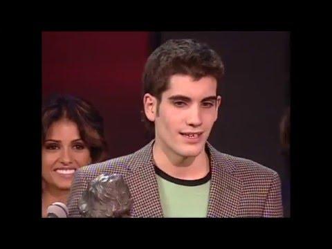 Tamar Novas gana el Goya a Mejor Actor Revelación en 2005