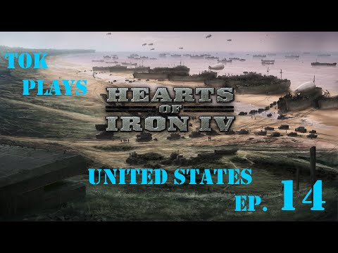 Tok plays Hearts of Iron 4 - United States of America ep. 14 - Day Of Infamy