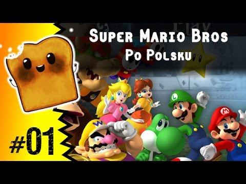 Gry Dla Dzieci | Super Mario Bros Po Polsku | Gry Mario | Nintendo Wii U