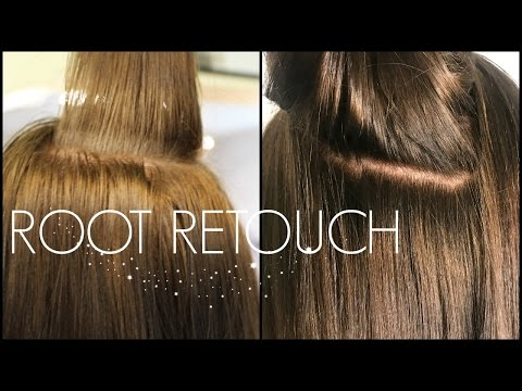 Tips & Tricks For A Root Retouch | How To Trim Hair | BEAUTY SCHOOL SERIES!