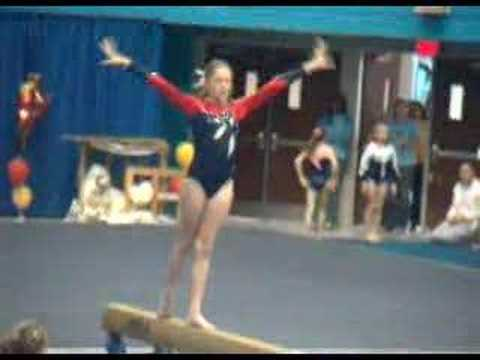 Carolyn Level 4 Beam 2007 Video