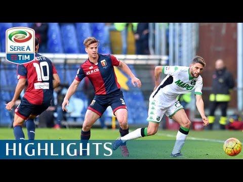 Genoa - Sassuolo 2-1 - Highlights - Giornata 13 - Serie A TIM 2015/16