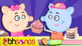 Pat A Cake lyrics song with lead vocal | Nursery Rhymes TV for Kids | Ultra HD 4K Music Video Full