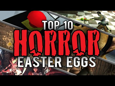 My Top 10 Easter Eggs and Secrets in Horror Games