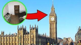 5 stanze segrete nei luoghi più famosi al mondo