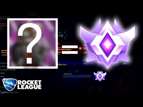 HELPING A FAMOUS YOUTUBER REACH GRAND CHAMP IN ROCKET LEAGUE?!