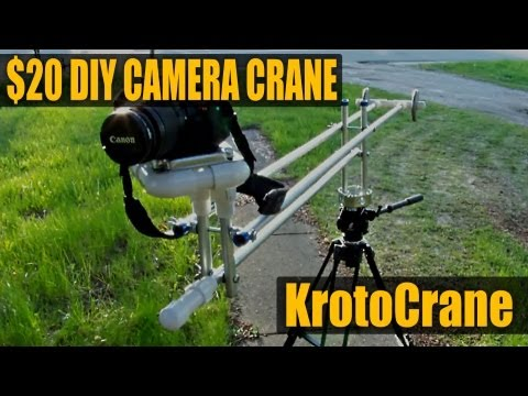 DIY Camera Crane / Jib $20 - KrotoCrane