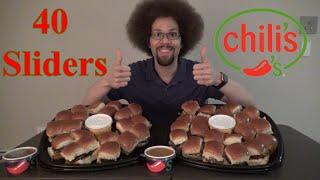 40 Cheeseburger Slider Challenge l Chili's Catering