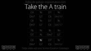 Take the A train (140 bpm) : Backing track