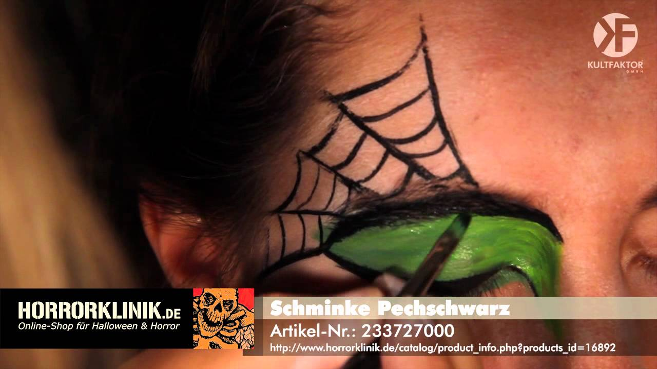 schminken zu halloween hexen make up leicht gemacht by youtube. Black Bedroom Furniture Sets. Home Design Ideas