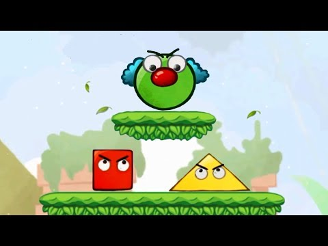 Adventures of Green BALL # 3 Cartoon game for children Bubble Blast
