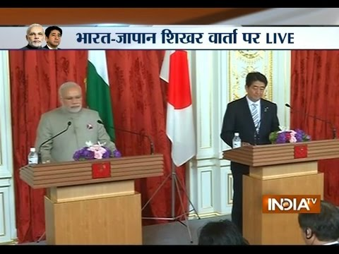 India-Japan meet: PM Narendra Modi addressing Media Live from Japan