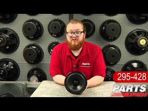 """Dayton Audio DS175-8 6.5"""" Designer Series Woofer"""