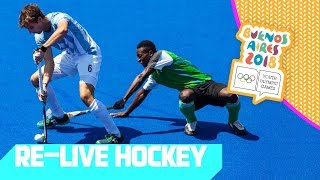 RE-LIVE   Day 08: Hockey   Youth Olympic Games 2018  Buenos Aires