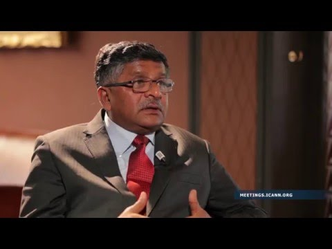 Interview with Ravi Shankar Prasad, Minister of Communications and Information Technology, India