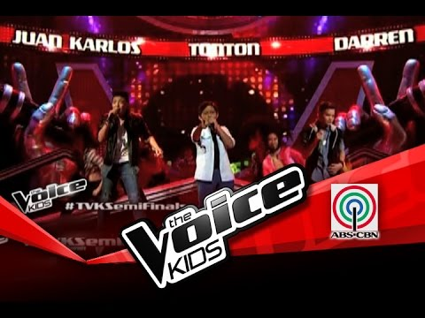 The Voice Kids Philippines Semi Finals one Way Or Another By Darren, Juan Karlos & Tonton video