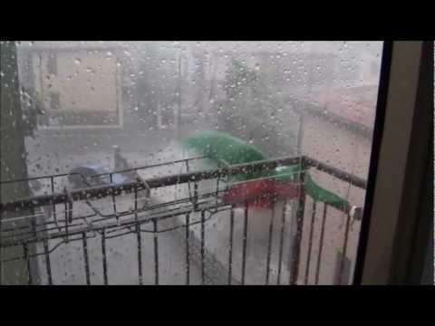 Forte vento, pioggia e grandine in Veneto / Extreme wind, heavy