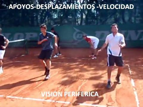 PREPARACION FISICA PARA EL TENIS - DESPLAZAMIENTOS-VISION PERISFERICA.wmv
