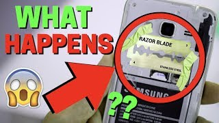 Putting a BLADE on Your Phone SHOCKING !! ( WiFi boost )