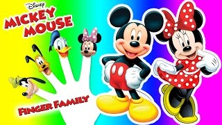 Mickey Mouse Clubhouse Finger Family, Nursery Rhymes Lyrics Kids Songs