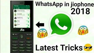 WhatsApp install in jio phone 2018 (Hindi) || Active WhatsApp in jiophone 2018