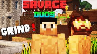 "Minecraft Savage Duos: ""Akan's School Stories"" With Akan22 & ProGabbar In Hindi"