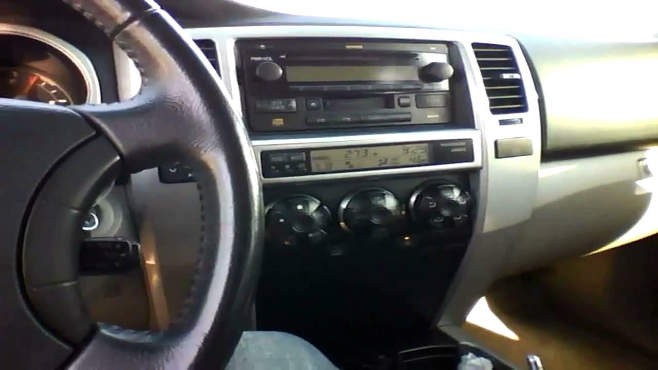 2005 Toyota 4runner Sr5 V6 Quick Tour Start Up Rev 63k Youtube