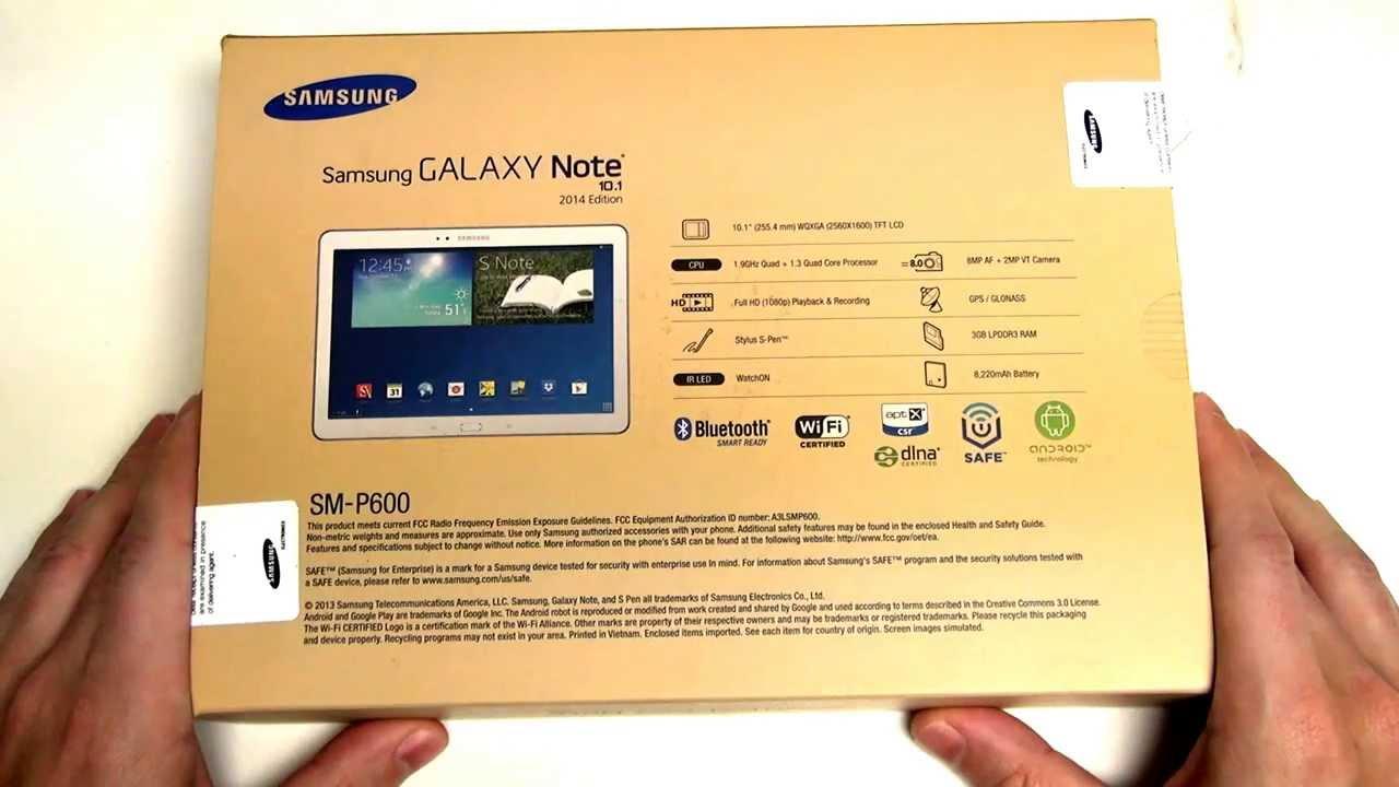 Samsung Galaxy Note 101 2014 Edition