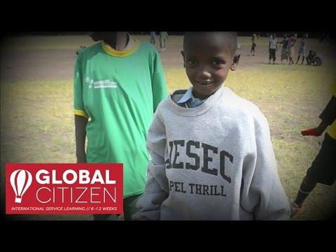 9 Young People Volunteer in Nairobi, Kenya | Global Citizen