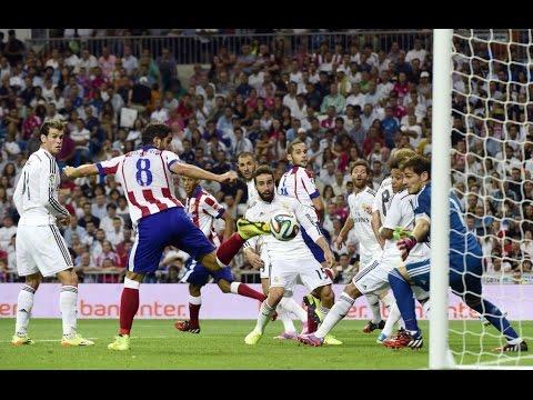 Goles de Supercopa de España 2014 (ida) Real Madrid - Atlético de Madrid (Tiempo de Juego COPE)