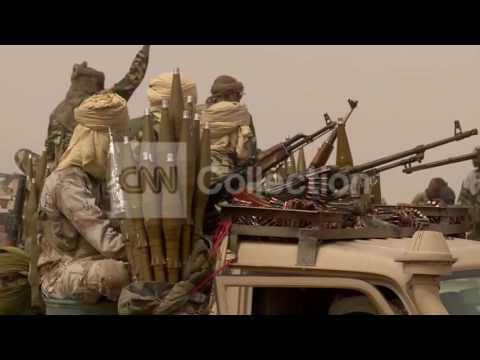 NIGERIA: CHADIAN TROOPS HUNTING BOKO HARAM B-ROLL