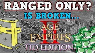AGE OF EMPIRES 2 IS A PERFECTLY BALANCED GAME WITH NO EXPLOITS - Ranged Only Challenge