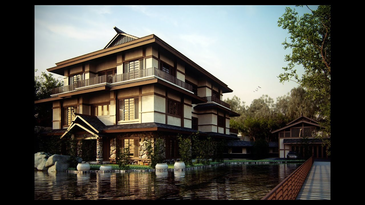 Life in japan living in a mansion youtube - Asian house designs and floor plans ...